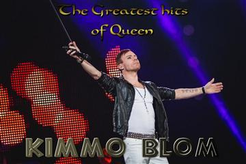 "Kimmo Blom ""The Greatest Hits of Queen Show"""