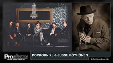 Popkorn XL & Jussu Pöyhönen