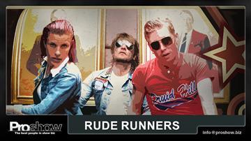 RUDE RUNNERS play HURRIGANES