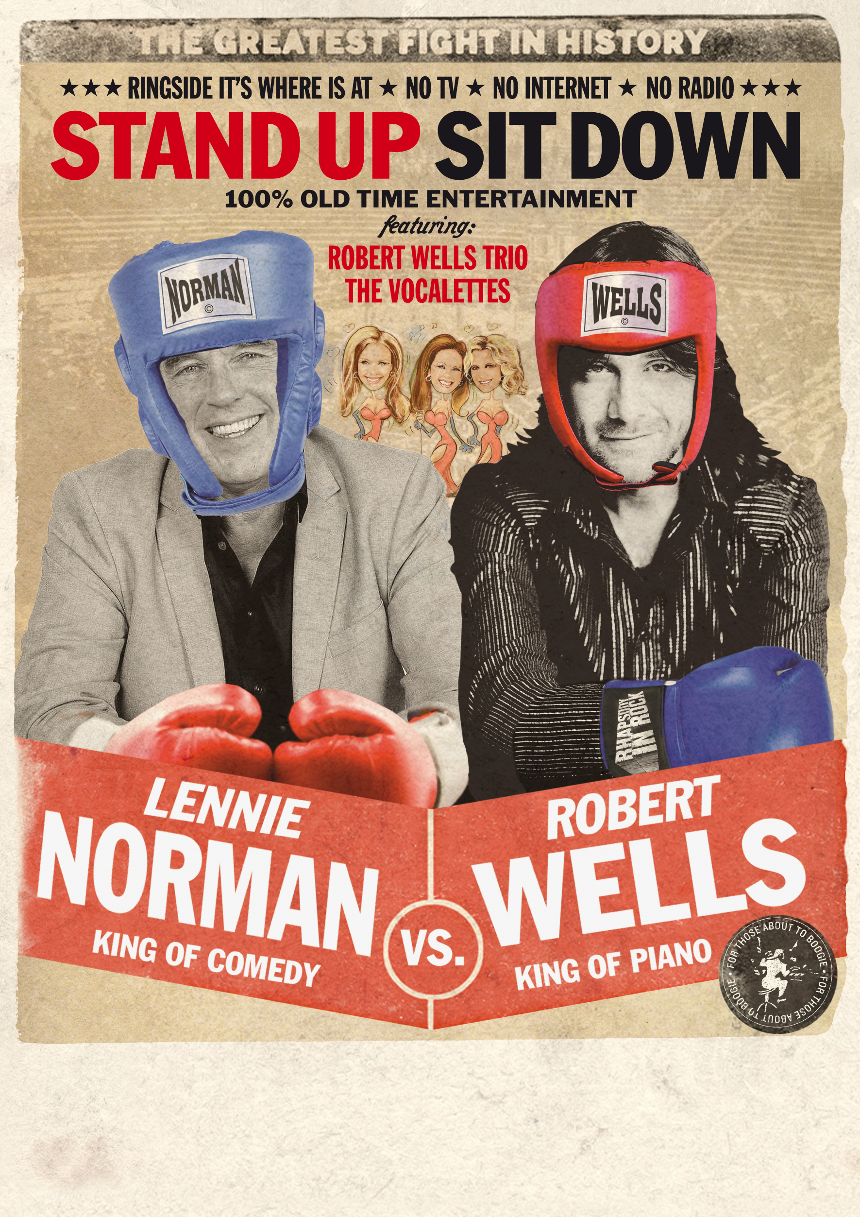 Lennie Norman vs Robert Wells